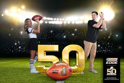 Castrol Super Bowl 50 Experience