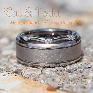 Cat & Todd Wedding Book Images