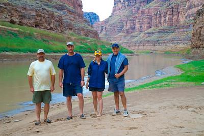 Keith, Phil, Steph and John