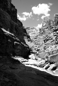 There was some Ansel Adams-esque scenery on this trip...