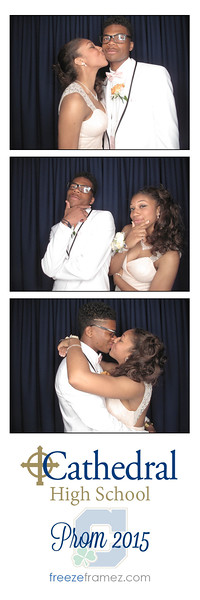 Cathedral High School Prom 2015