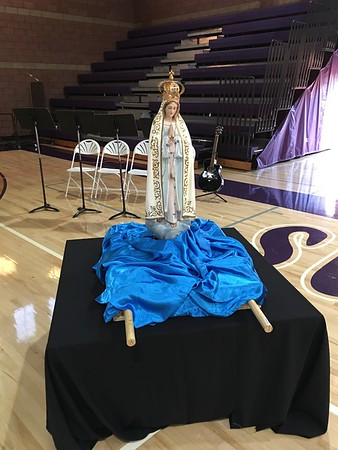 Rosary before Family Mass sponsored by Alumni Association
