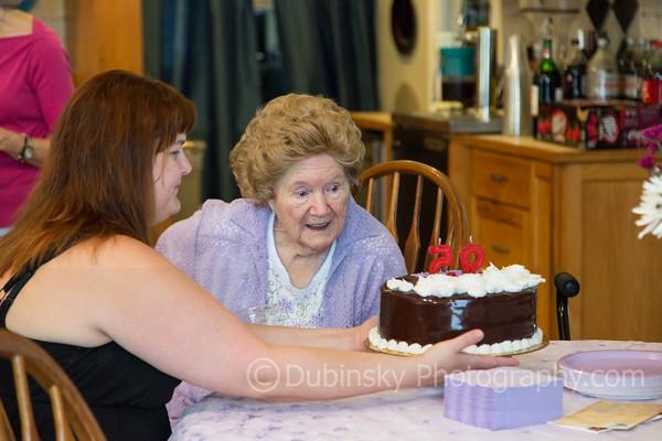Catherine Hackney's 95th Birthday