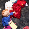 Time to open all her presents