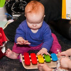 It's a xylophone, from her Granny and Grandad in Cumbria.  Catherine fails to work out how to use it.