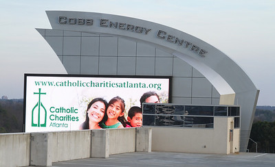 The Cobb Energy Center was the site of the 4th annual Catholic Charities Gala, March 3.