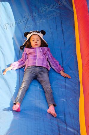 Girl on slide 2276
