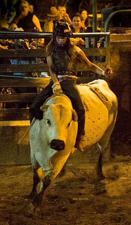 Mia_bull riding_Buffalo Chiops 052015