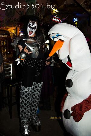 KISS & snowman 4549PatLam