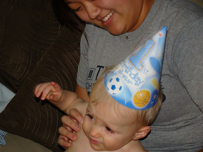 Cayden's Second, First Birthday Party!