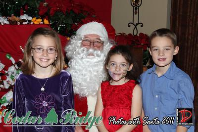 Cedar Ridge Children's Party with Santa 12-10-11