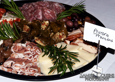 Food provided by Aurora Provisions   at ILAP's CeleSoiree 2010 at the Portland Company