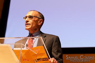 Ron Kriesman, executive director of ILAP, speaking at CeleSoiree 2013