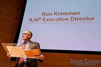 Ron Kriesman, executive director of ILAP, speaking at CeleSoiree 2013