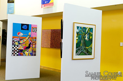 Artwork on display at CeleSoiree 2013