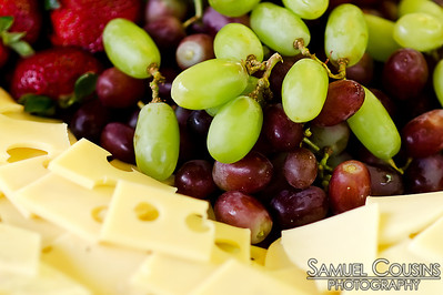 Cheese and Grapes at CeleSoiree 2013