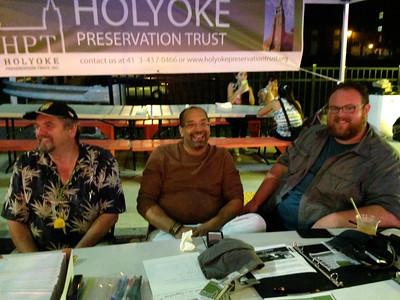 Happy people: Vitek, Ken, Rory.