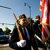 """VFW Manuel Baltirras marches in the parade at the 53rd annual Celebrate Lafayette event in downtown Lafayette Saturday, Sept. 26, 2009. The festival has been held every year since 1956, and this year's theme was """"Hollywood on Parade"""".<br /> KASIA BROUSSALIAN / THE CAMERA"""
