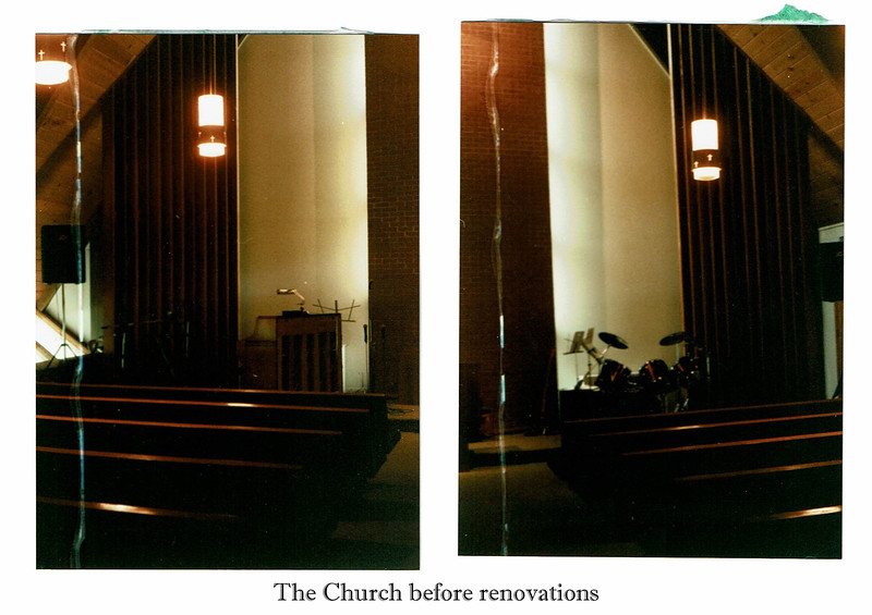 Slide 12 the church before renovations
