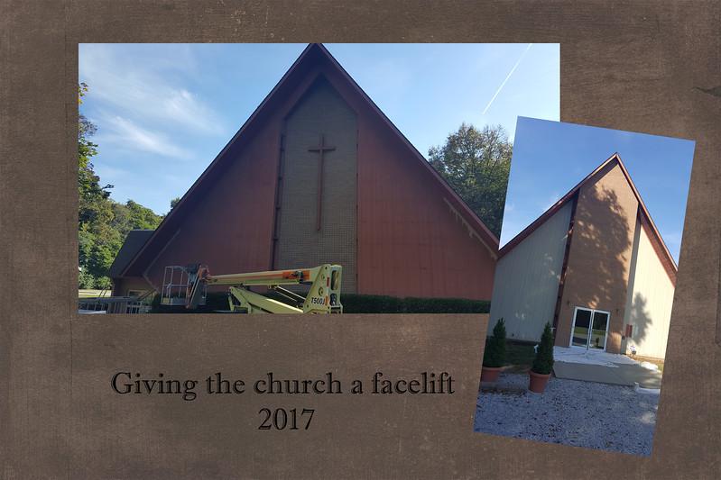 church gets a facelift - 2017 slide 2
