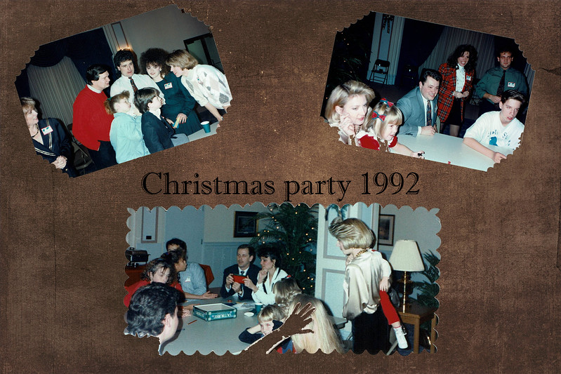 Christmas Party 1992