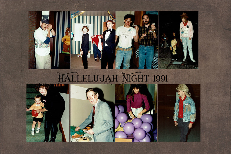 Hallelujah night slide 2 1991