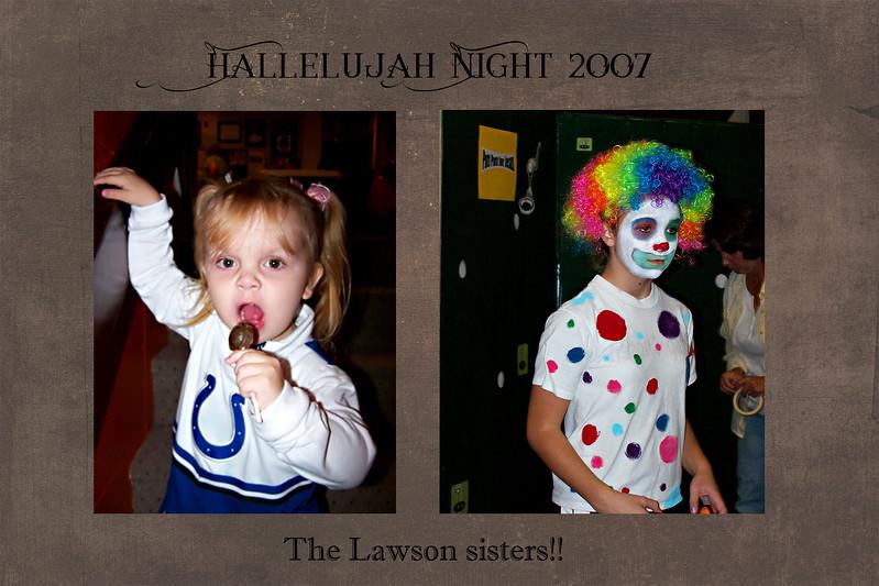 Hallelujah night slide 2007