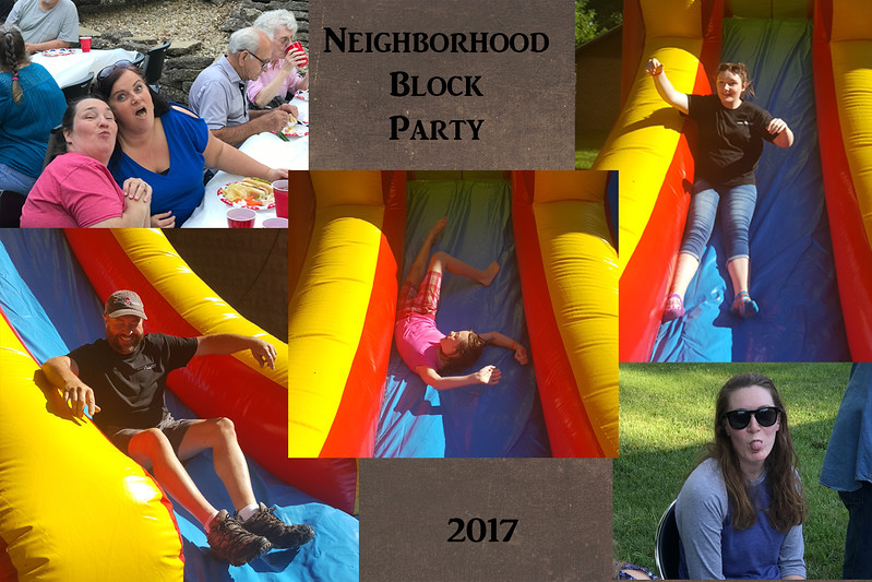 Fellowship through the years slide 14 neighborhood block party 2017