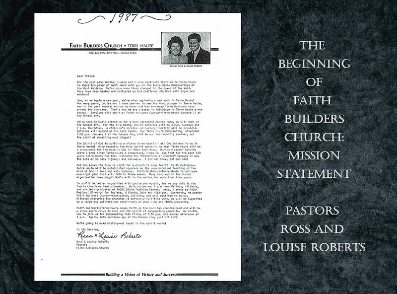 Slide 2 - faith builders mission statement