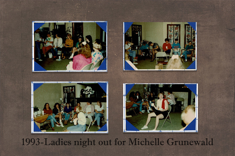 slide 17 ladies night out for michelle 1993