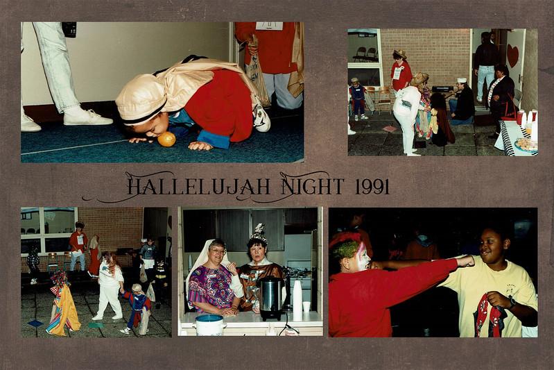 Hallelujah night slide 3 1991