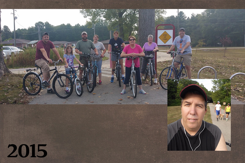 Fellowship through the years slide 10 bike ride 2015