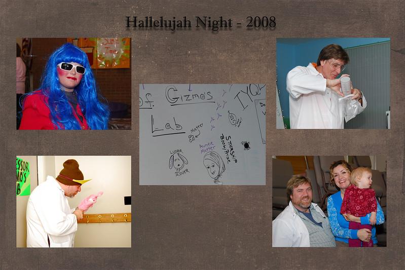 Hallelujah night slide 2008
