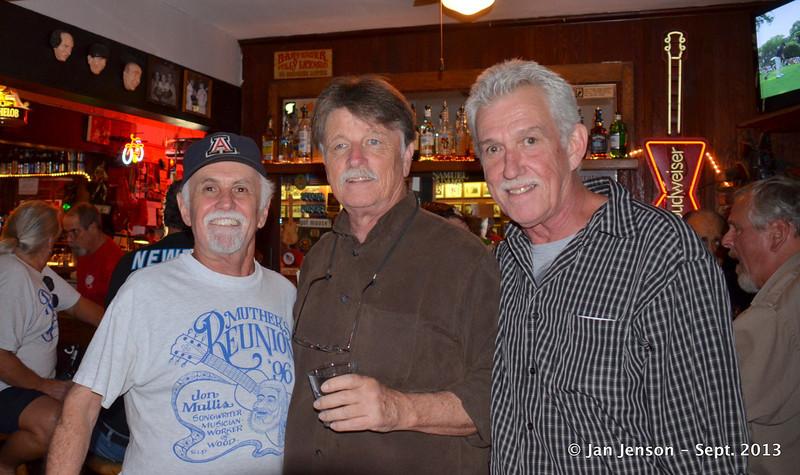 Tony Bass, Johnny Meadows, Michael Wilson