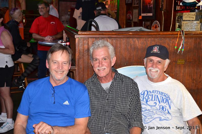 John Boye, Michael Wilson and Tony Bass