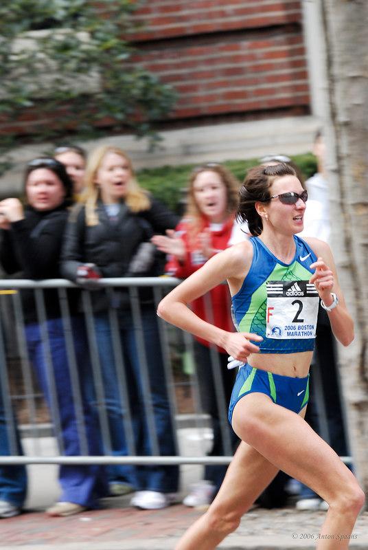 Jelena Prokopcuka,  Latvia (2:23:48 2nd)