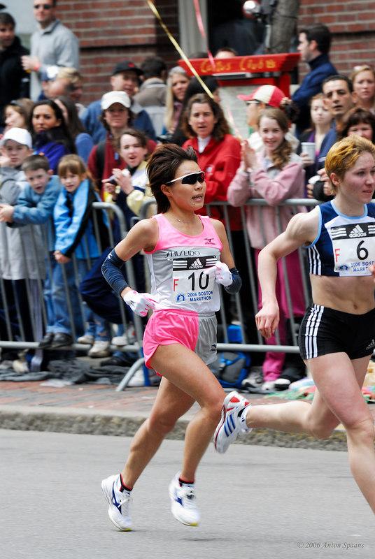 F10: Kiyoko Shimahara, Japan (2:26:52 5th)<br /> F6: Alevtina Biktimirova, Russia (2:26:58 6th)
