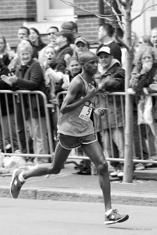 Benjamin Maiyo, Kenya (2:08:21 2nd)