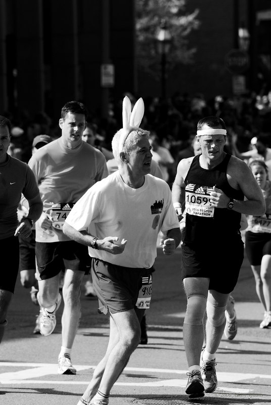 And the bunny is running too!! <br /> 10599: Brian J.  Donnelly, USA (WI) (3:36:24 6147th)