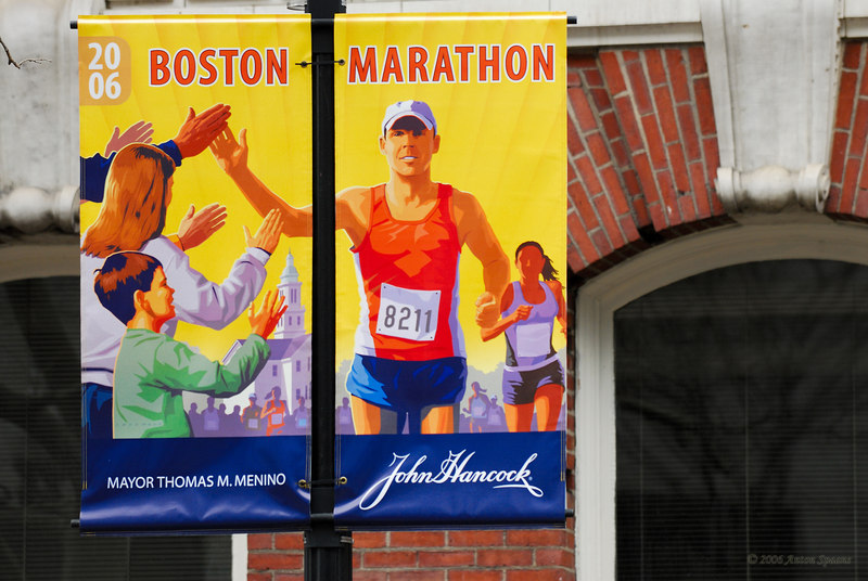 Boston Marathon 2006.