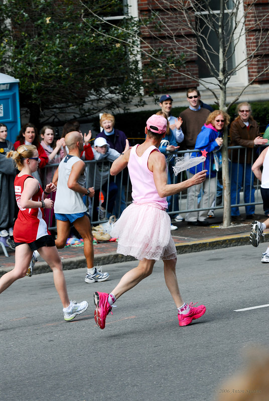 The fairy queen was running too! :=)