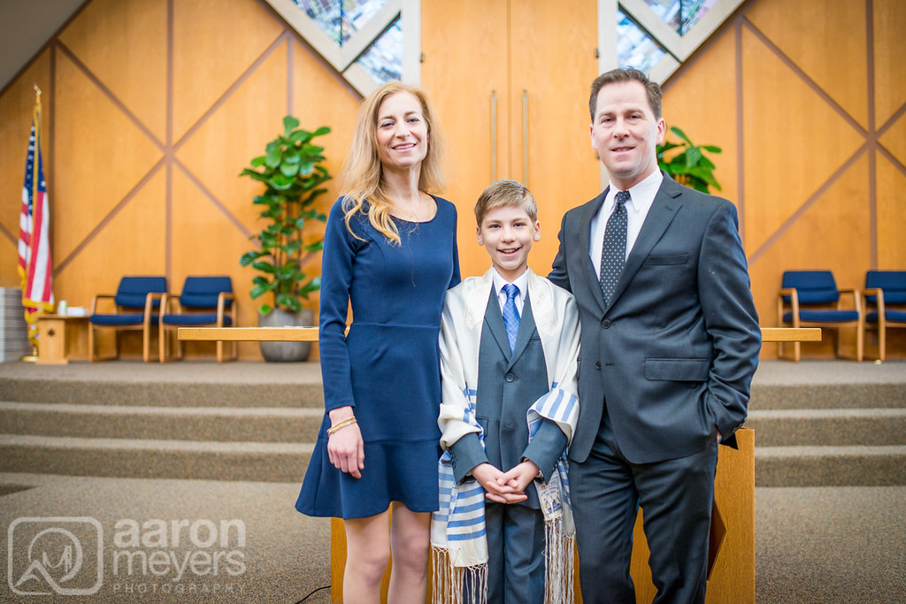 Jeremy Baum Bar Mitzvah Congregation Beth Jacob January 30, 2016