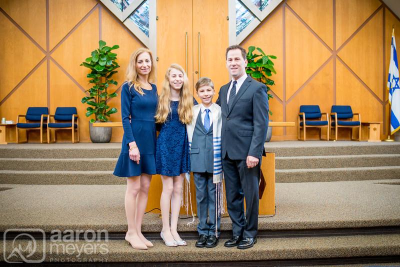Jeremy Baum Bar Mitzvah Congregation Beth Jacob January 30, 2016