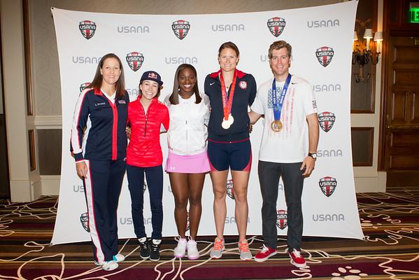 USNC 2016 Athlete Photo Op