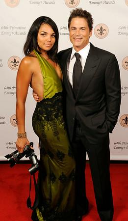 Earica & Rob Lowe