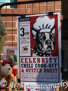 Charleston Animal Society Celebrity Chili Cook-Off & Oyster Roast Dec 3, 2011 Charleston, SC 2455 Remount Road  North Charleston, SC 29406 (843) 556-7729