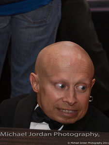 Verne Troyer of Austin Powers fame makes his way along the red carpet during the Muhammad Ali Celebrity Fight Night XVII at JW Marriott Desert Ridge Resort & Spa in Phoenix on Saturday, March 19, 2011.