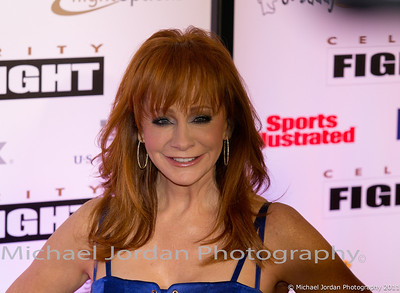 Music star Reba McEntire on the red carpet during the Muhammad Ali Celebrity Fight Night XVII at JW Marriott Desert Ridge Resort & Spa in Phoenix on Saturday, March 19, 2011.