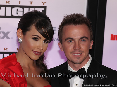 Actor Frankie Muniz and girlfriend Elycia Turnbow arrive on the red carpet during the Muhammad Ali Celebrity Fight Night XVII at JW Marriott Desert Ridge Resort & Spa in Phoenix on Saturday, March 19, 2011.