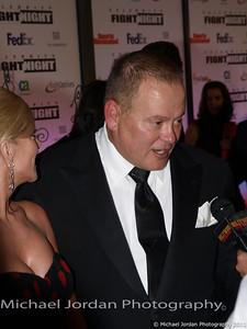 GoDaddy.com founder and CEO Bob Parsons with his wife Renee on the red carpet during the Muhammad Ali Celebrity Fight Night XVII at JW Marriott Desert Ridge Resort & Spa in Phoenix on Saturday, March 19, 2011.